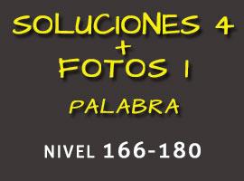 Soluciones 4 Fotos 1 Palabra Nivel 166-180 - Soluciones 4