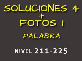 Soluciones 4 Fotos 1 Palabra Nivel 256-270 - Soluciones 4